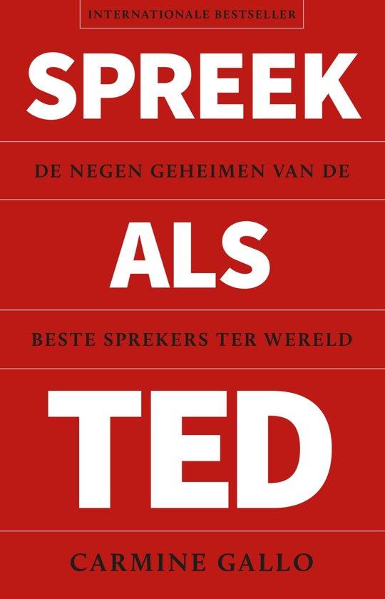 Spreken als Ted - Carmine Gallo